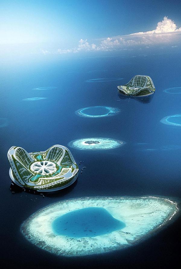 Lilypad - плаващ Екополис
