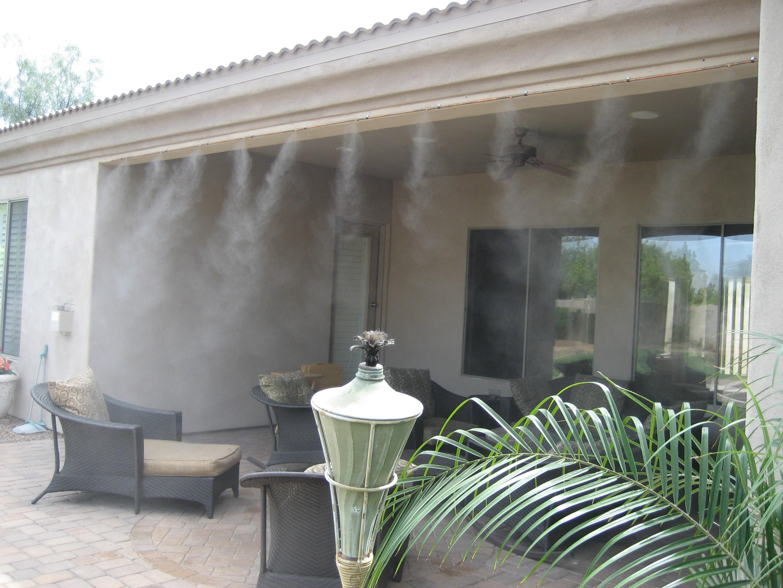 Системи за охлаждане на открито с водна мъгла