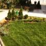 Озеленяване на двор с градина в с. Подгумер - декоративна група